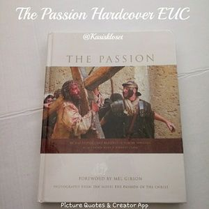 The Passion Mel Gibson Hardcover Large Book